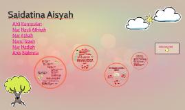 Saidatina Aisyah