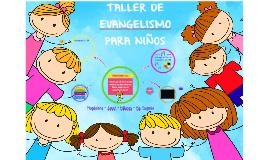 Taller de evangelismo para niños