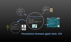 Perandoria Osmane gjatë shek. XIX