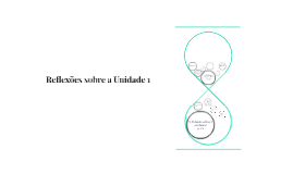 Reflexões sobre a Unidade 1