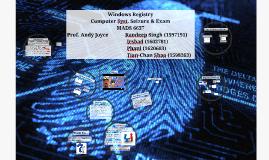 Copy of Windows Registry