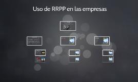 Uso de RRPP en las empresas