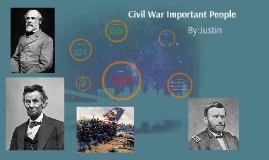 Civil War Important Peoples
