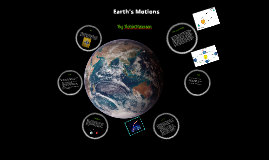Gyroscopes and Earth's Motions