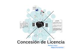 Concesion de Licencia