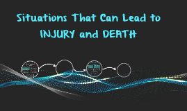 Situations That Can Lead to Injury and Death