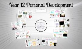 Year 12 Personal Development