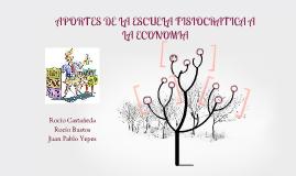 Copy of Aportes de la escuela fisiocratica a la economia