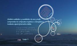 Ánalisis  por espectrofotometría visible