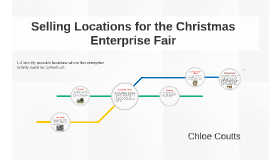 Selling Locations for the Christmas Enterprise Fair