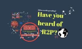 R2P: idea worth spreading