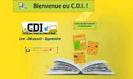 Présentation CDI Parents 6e