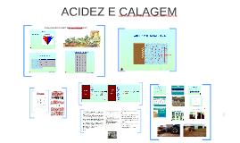 ACIDEZ E CALAGEM