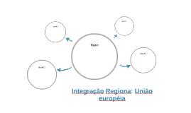 Integração Regiona: União européia