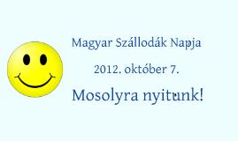 Magyar Szállodák Napja