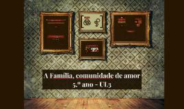 A Família, comunidade de amor