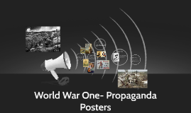 Propaganda posters- art and language