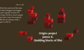 Origins project