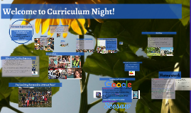 Copy of 3rd Grade Curriculum Night