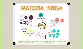 Copy of Materia prima, definición y clasificación.