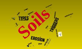 Soil Erosions
