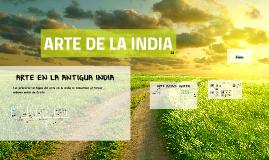 Copy of ARTE DE LA INDIA