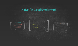 4 Year Old Social Development