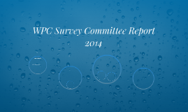 WPC Survey Committee Report