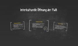 Interkulturelle Öffnung der FWA