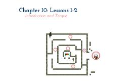 Physics 10-1 & 10-2
