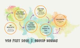 veg fest 2015  |  Group norms