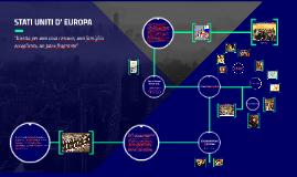 STATI UNITI D' EUROPA