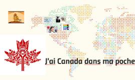 J'ai Canada dans ma poche