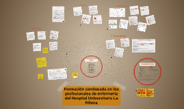 Formación continuada en  los profesionales de enfermería del