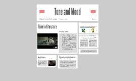 Copy of Tone and Mood in Literature