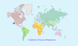 California Tsunami Responses