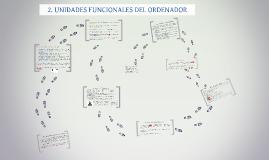 UNIDADES FUNCIONALES DEL ORDENADOR