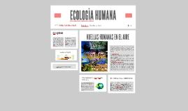 ECOLOGÌA HUMANA