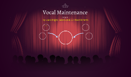 Vocal Maintenance