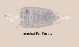 Acrobat Pro Forms