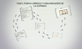 5. FORMA JURÍDICA Y ORGANIZACIÓN DE LA EMPRESA