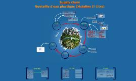 Supply Chain - Bouteille d'eau plastique Cristaline (1 Litre)