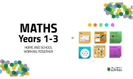 Y1-3 Parent Workshop Maths Autumn 2016