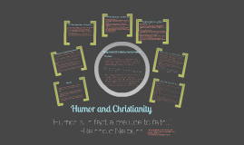 Humor and Christianity