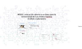 Cursos MOOC: educación en-línea para la Universidad de Los A