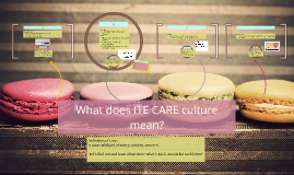 What does ITE CARE culture mean?