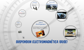Suspension Electromagnetica (Bose)