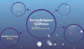 Koryo Religious Traditions
