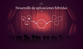 Desarrollo de aplicaciones hibridas