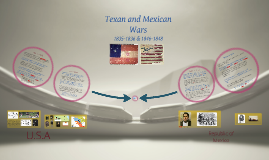 Texan and Mexican Wars